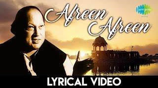 Afreen Afreen - Nusart Fateh Ali Khan Lyrics