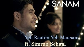 Yeh Raaten Yeh Mausam - Sanam Puri, Simran Sehgal Lyrics in Hindi & English