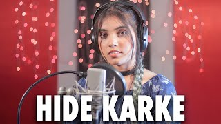 Hide Karke female version cover Aish| Aish Lyrics