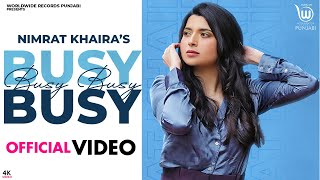 Busy Busy| Nimrat Khaira Lyrics