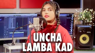 Uncha Lamba Kad Female version Cover by Aish| Aish Lyrics