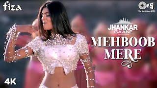 Mehboob Mere  Sunidhi Chauhan Lyrics