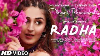 Radha  Dhvani Bhanushali Lyrics