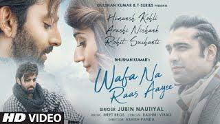 Wafa Na Raas Aayee Hindi English| Jubin Nautiyal Lyrics