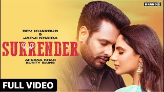 Surrender| Afsana Khan Lyrics
