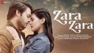 Zara Zara Hindi  Stebin Ben Lyrics