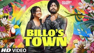 Billo's Town  Ravneet Singh Lyrics
